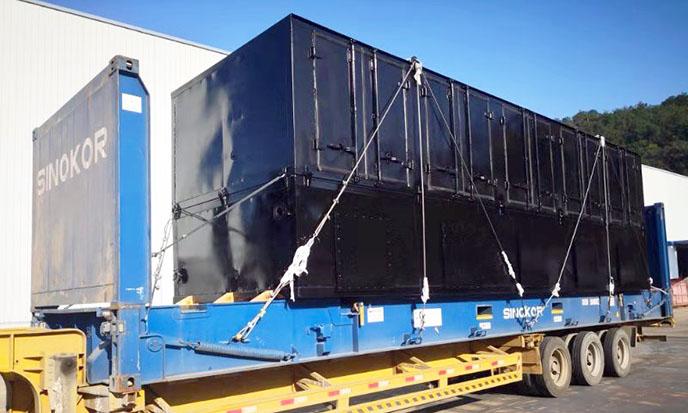 Битумоплавильная установка BBM-5SO введена в эксплуатацию